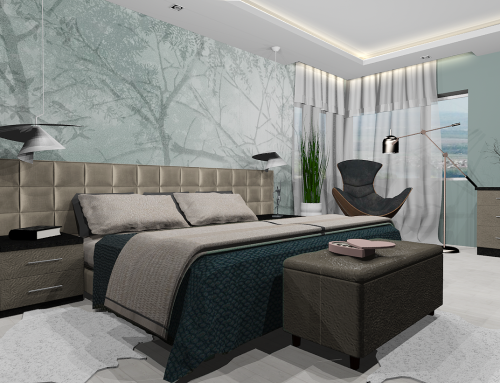 Hálószobák terveimből
